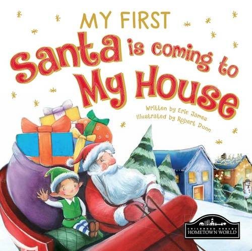 early years santa book