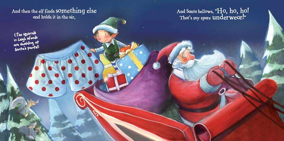 My First Santa Board Book