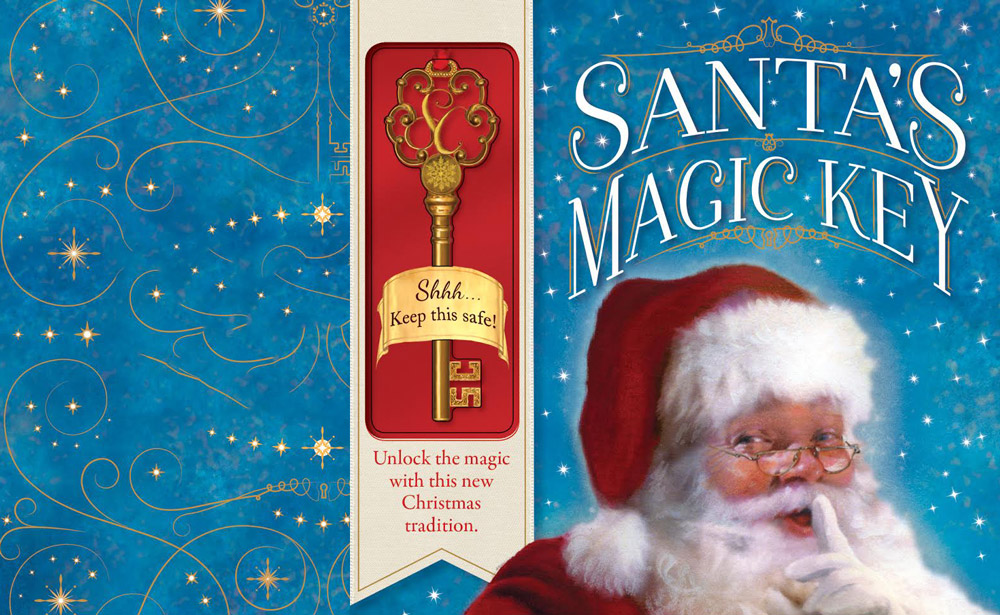 Santas magic key eric james childrens author santas magic key m4hsunfo Images