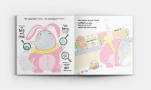 Tiny the Easter Bunny Rhyming Book