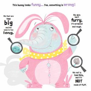 Tiny - this bunny looks funny