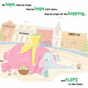 Tiny Elephant Hop Hop Stop